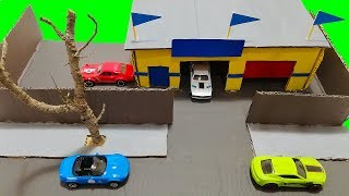 Make your own workshop   Homemade Hot Wheels Accessories