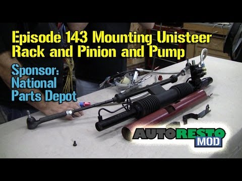 Setting Up Unisteer Pump And Rack And Pinion Mustang And