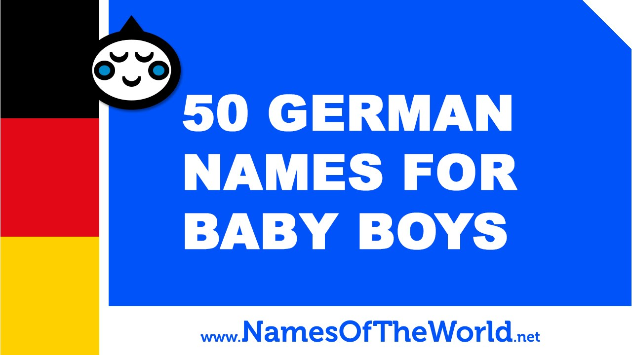 50 German Names For Baby Boys
