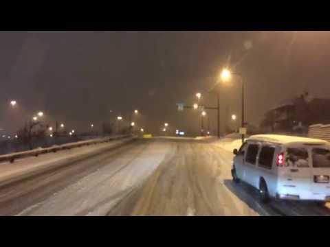 Cleveland Ohio Winter Snow Storm February 2015