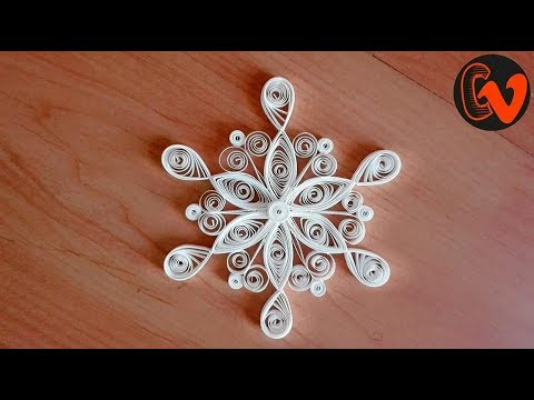 Quilling Snowflakes Tutorial