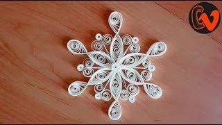 Quilling Snowflakes Tutorial