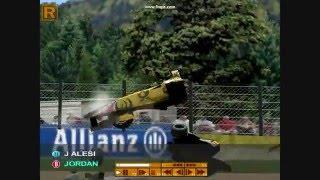 Grand Prix 4 Crashes Compilation: Greatest Crashes