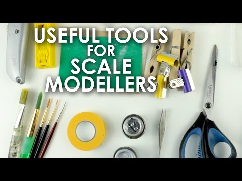 Useful Tools for Scale Modellers (no airbrushes)
