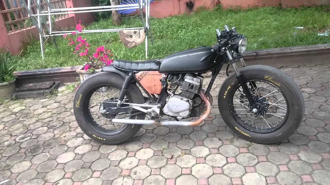 cb125t superdream banda aceh new caferacer looks - youtube