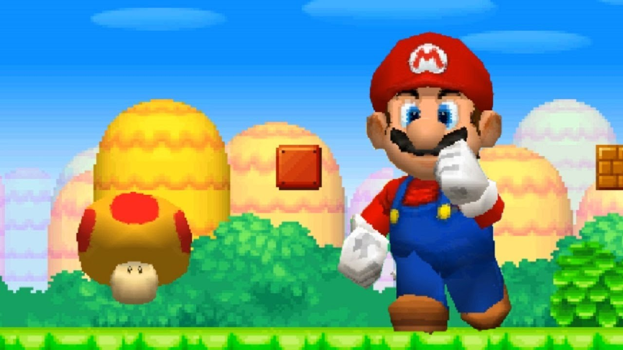 New Super Mario Bros Ds Walkthrough Part