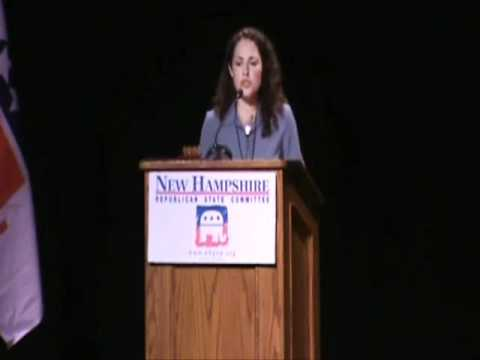 NH GOP Convention: Kerry Marsh, Chair of the NH Young Republicans