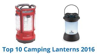 10 Best Camping Lanterns 2016