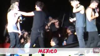 The Amayzenest One Direction Take Me Home Tour Moments - Miami & Mexico 2013