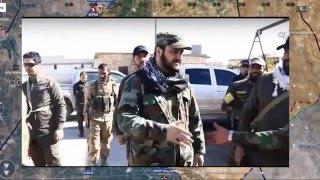 Обзор карты боевых действий в Сирии и Ираке от 14.01.2016г