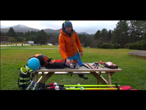 Ski Mountaineering Packing Your Bag Part 2
