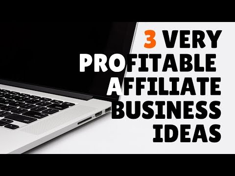 3 Affiliate Marketing Business Ideas That are VERY Profitable