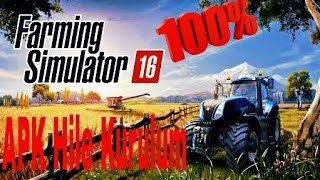 Farming Simulator 16 Hile Kurulumu (Sd Data+APK)