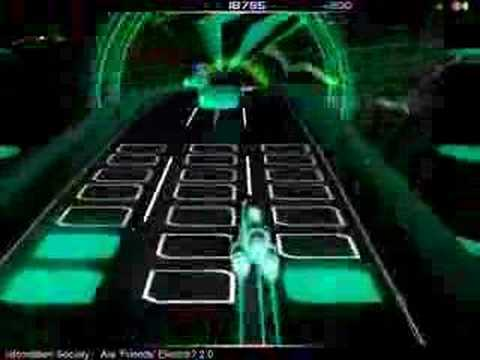Audiosurf - Are Friends Electric? 2.0 by Information Society