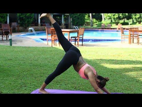 Eka Pada Adho Mukha Svanasana One Legged Downward Dog Pose How TO Do This Asana and Its Benefits
