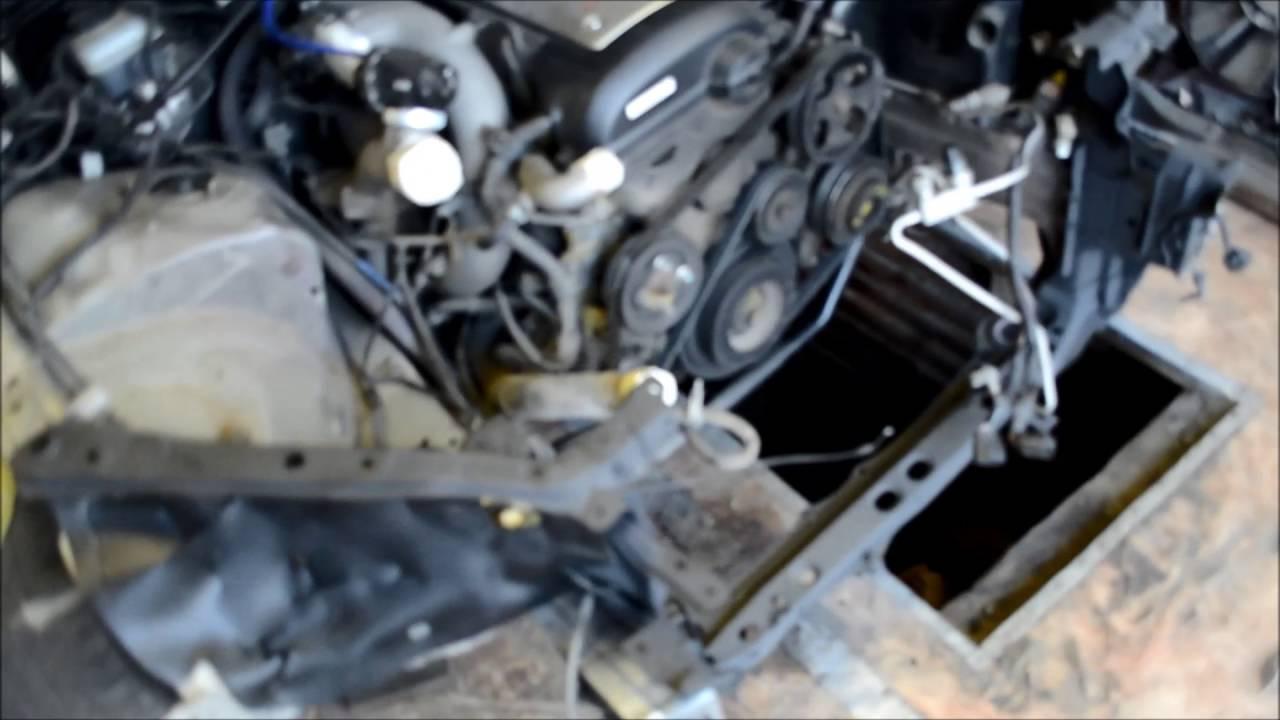 Нестандартный ремонт Toyota Mark 2 (1G GZE)