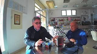Il tempo di un caffè, Enzo CAprino incontra Amleto Della Rocca