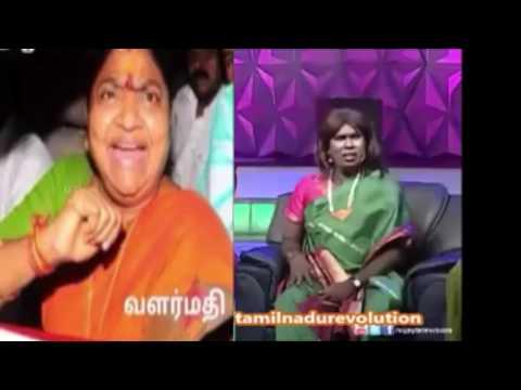 Politician Valarmathi ennama ippadi pandringalema Comedy  Tamil