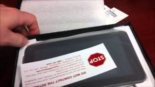 """D2 7"""" $79 Android Tablet ICS unboxing"""