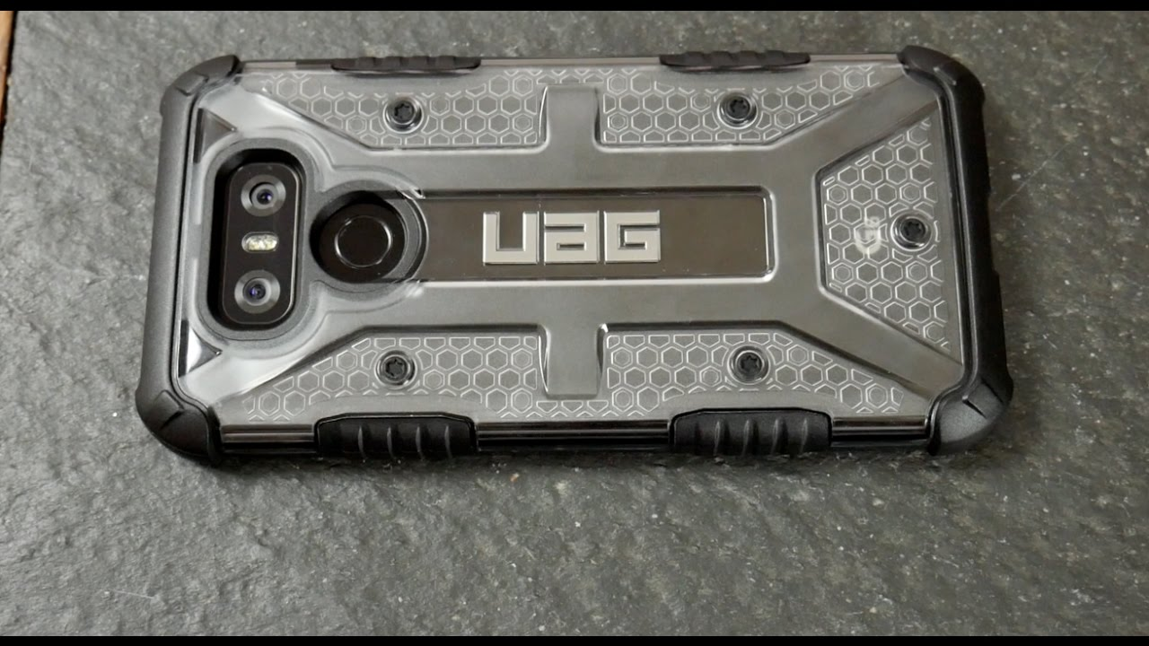 best website 2c843 f183d LG G6 UAG Plasma Series Case Review!