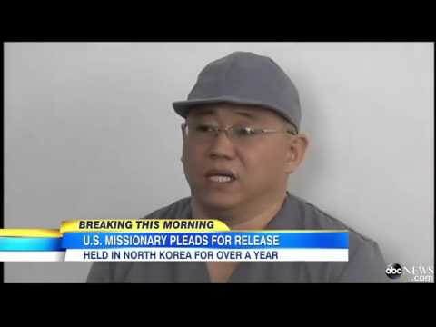 Kenneth Bae Appeals to US in North Korea Press Conferenc