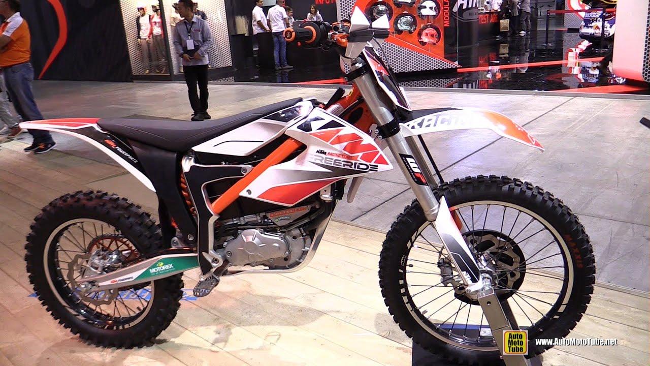 2015 KTM Freeride E-SX - Walkaround - 2014 EICMA Milan Motorcycle Exhibition - YouTube