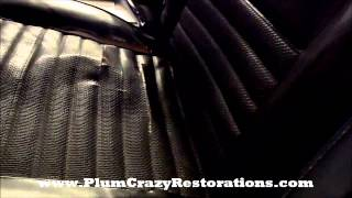 1967 Ford Fairlane Convertible - Vehicle Hoist Inspection Interior