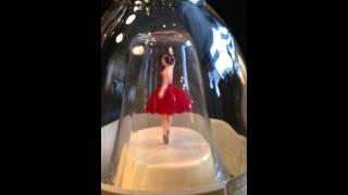 Vintage 1950/60s Bols Gold Liquor Ballerina Bottle