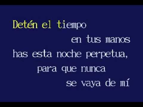 Roberto Cantoral Karaoke avi El Reloj uTF5l13JKc