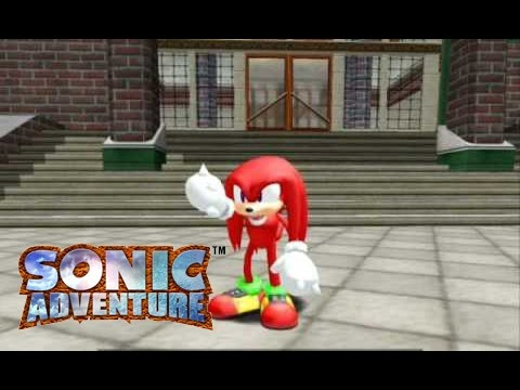 Sonic Adventure (Dreamcast) Knuckles' Story