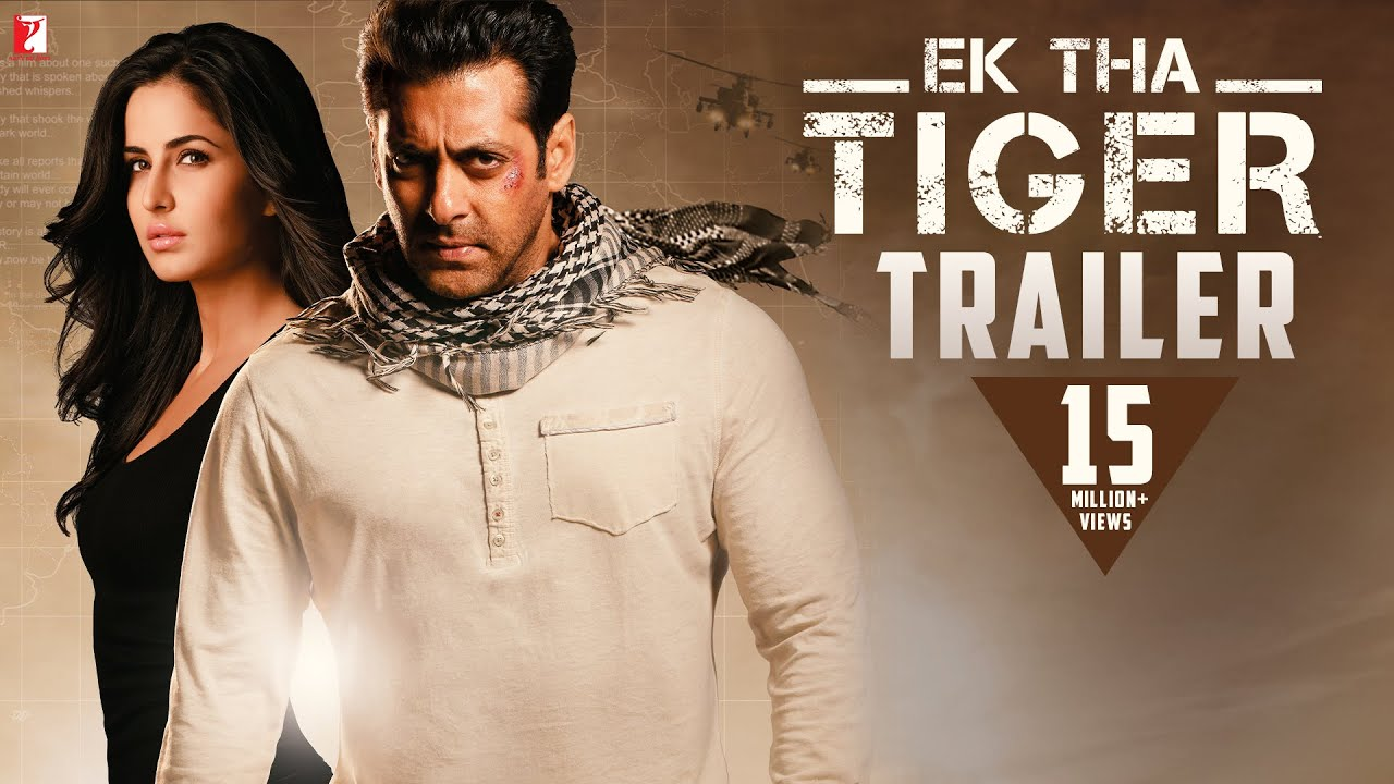 Salman Khan And Katrina Kaif In Ek Tha Tiger: Official Trailer