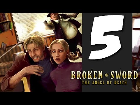 Lets Play Broken Sword 4: The Angel of Death: Part 5 - The Shadow of the Templars |