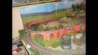 Spur N Modellbahn,Fertigstellung BW 80 Prozent ,Oberleitung provisorisch aufgebaut