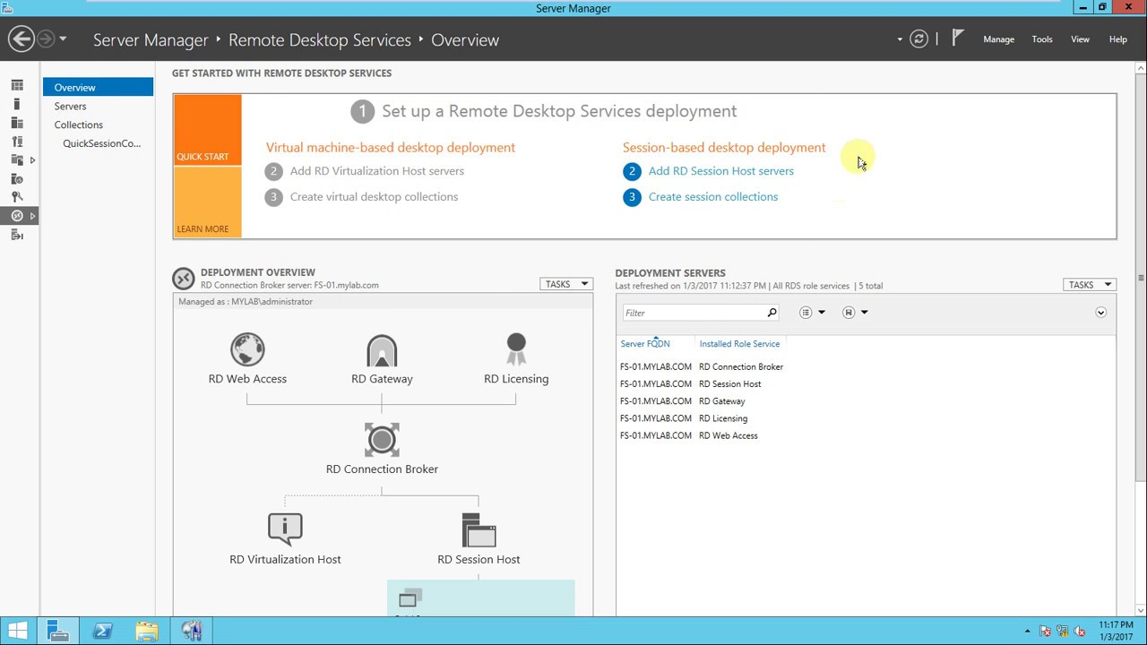 RDP - Allow Multiple Remote Desktop Sessions- server 2012 part- 6