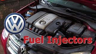 Replacing VW Fuel Injectors on a 2.5 Jetta