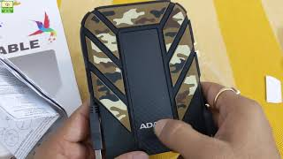 ADATA External Hard Drive HD710 Pro Review [Hindi]