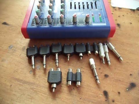 Jenis-jenis conector audio yang harus diketahui