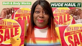 BATH & BODY WORKS *HUGE* SEMI-ANNUAL SALE HAUL   JUNE 2019