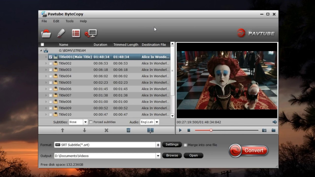 3 Ways to Free Extract DVD subtitles to SRT