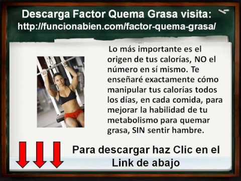 Descarga Factor Quema Grasa Libro PDF