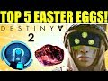 DESTINY 2  -  TOP CINCO EASTER EGGS DE DESTINY 2!