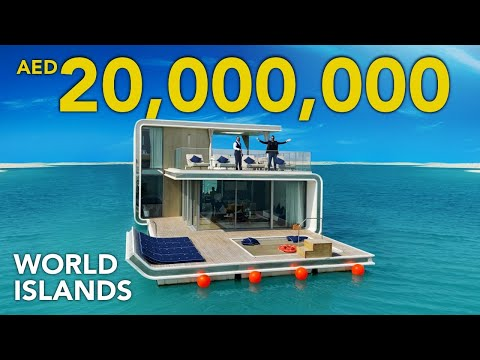 INSIDE A 20,000,000 FLOATING VILLA IN DUBAI | Heart of Europe at World Islands | SEAHORSE | VLOG 37
