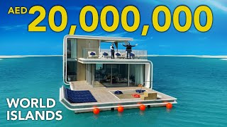 INSIDE A 20,000,000 FLOATING VILLA IN DUBAI | Heart of Europe at World Islands | SEAHORSE | VLOG 37