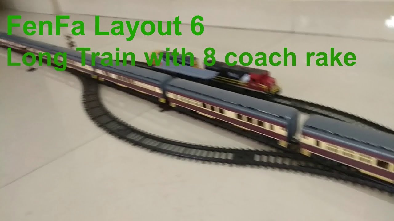 Model Layout06 Trainfenfa Long Train Express TrainToy 4ARL5j3q