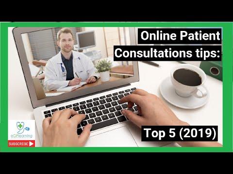 Online Patient Consultation tips: Top 5 (2019)