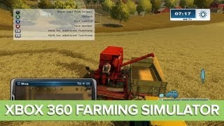 Farming Simulator Xbox 360 Gameplay: Let's Play Farming Simulator Xbox 360 Ep. 1