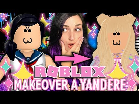 Makeover A Yandere! | ROBLOX Royale High TROLLING