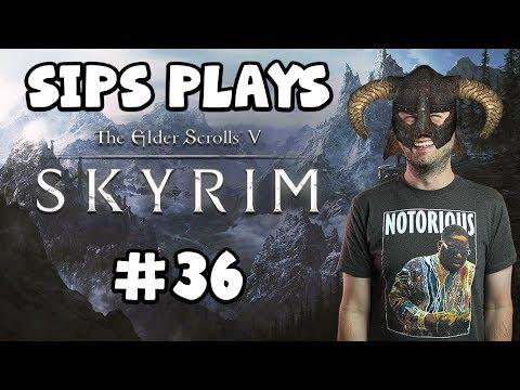 Sips Plays Skyrim (2/3/18) - #36 - A Very Confused Dad