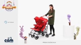 Video: Cam Twin Flip Stroller