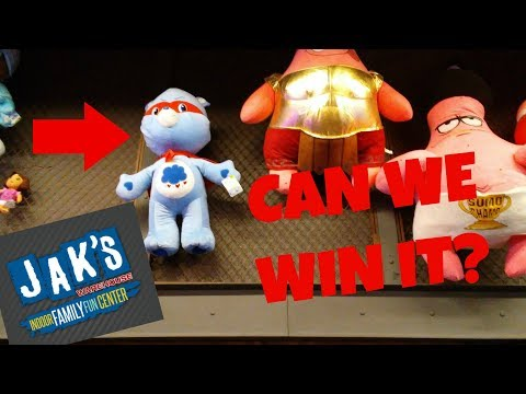 Can we win a giant care bear? | Jaks Warehouse, IN